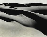 dunes, oceano by edward weston