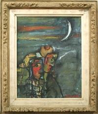 girl and the moon by sunil madhav sen
