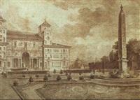 les jardins et la villa medicis a rome by jean-augustin renard
