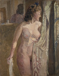 nudo femminile by luigi zago