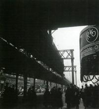 métro aérien, new york by marcel arthaud