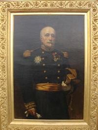 portrait présumé du duc d'aumale en grand officier de la légion d'honneur by françois lafon