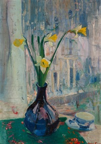 still life with narcissus by harrie kuyten
