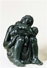 moeder en kind by karel aubroeck