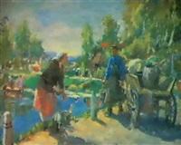 rencontre matinale by lidia davidenkova