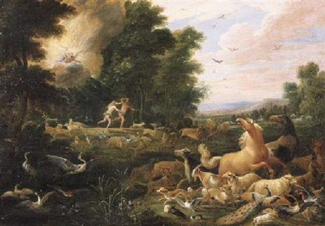 Expulsion From The Garden Of Eden Garden Ftempo