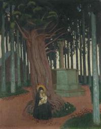 vierge de saint-gonery by maurice denis