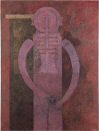 hombre en rosa by rufino tamayo