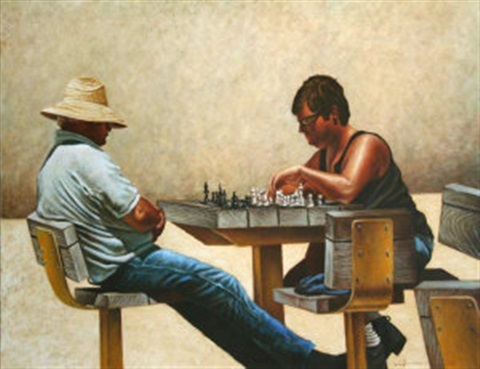 the chess players by mark kavanagh