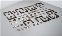 door handles (set of 11) by adolf meyer and walter gropius