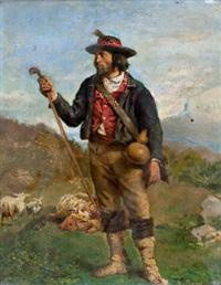 ein italienischer hirte by carl probst