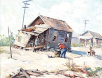 sharecropper shanty by edith jeannette roddy