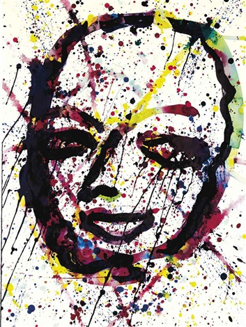 self portrait by sam francis