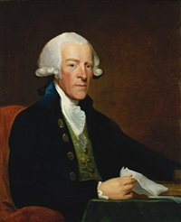 portrait of the right honorable william brownlow by gilbert stuart