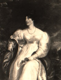portrait of a lady (mrs. ramsbottom?) by john simpson