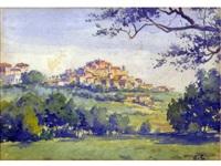 paesaggio by giacomo grosso