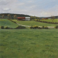 red barn near gowran by blaise smith