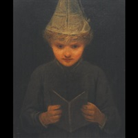 the little dunce by george f. fuller
