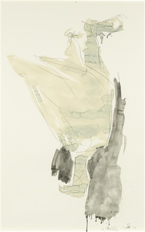 adler by georg baselitz