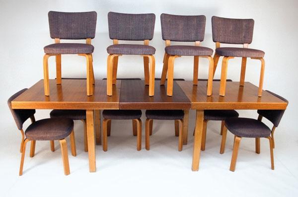 Esstisch Und Stuhle 64 Set Of 11 By Alvar Aalto On Artnet