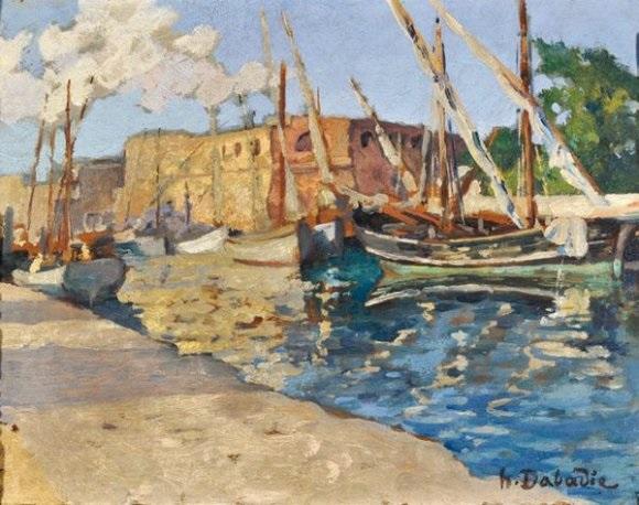 port afrique du nord by henri dabadie