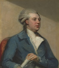 portrait of a gentleman by john russell