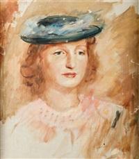 portret marii kowalskiej (marii z przeworskich kononowej) by roman kramsztyk