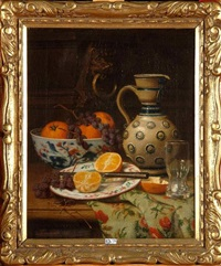 nature morte aux fruits by joseph nauwens