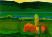 green landscape by artashes abraamyan