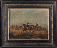 choc de cavalerie by paul emile léon perboyre