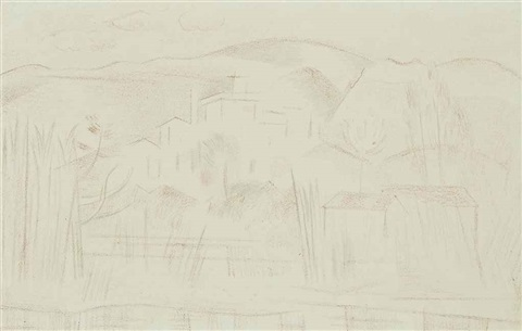 cros de cagnes by paul nash