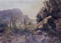 paysage du jura by achille gros