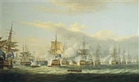 the battle of copenhagen, 2nd april 1801 by thomas luny