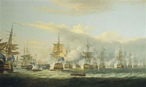 the battle of copenhagen 2nd april 1801 by thomas luny