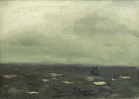 Vue De Mer Avec Bateau By Constant Permeke On Artnet