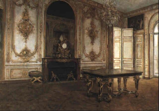 Scène Du0027intérieur à Versailles By Juan Antonio Gonzalez