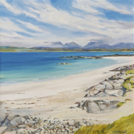 mannin bay connemara by naomi peppard