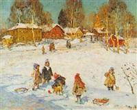 a winter's day by vladimir gusev