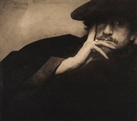 solitude, f. holland day; the little model, 1906 (2 works) by edward steichen