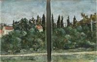 landscape (diptych) by hadar gad