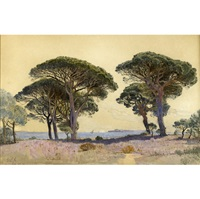 view of cannes by william stanley haseltine