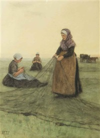 mending the nets by david adolf constant artz