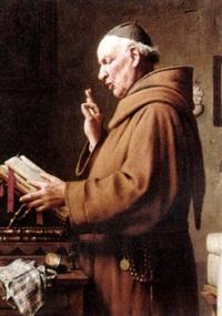 the monk's sermon by giovanni sandrucci