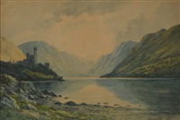 glenveagh castle, co. donegal by douglas alexander