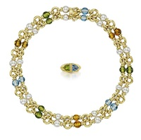 suite of jewelry (2 works) by bulgari