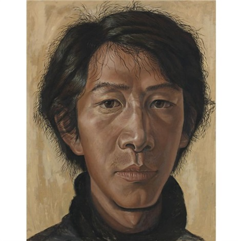 portrait by gu dexin