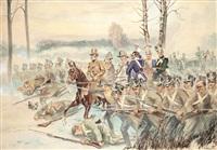 bitwa o olszynkę grochowską wg obrazu wojciecha kossaka by tadeusz korpal