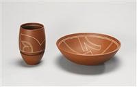 a vase by nicholas homoky