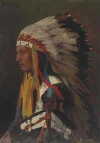 indian chief by richard lorenz