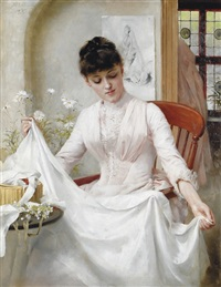 the wedding dress by thomas benjamin kennington
